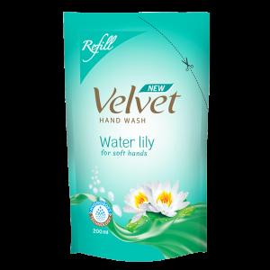 Velvet Handwash Refill Pouch Waterlily-200ml